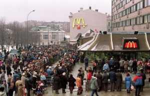 McDonalds в Брянске открылся – харчи стали религией