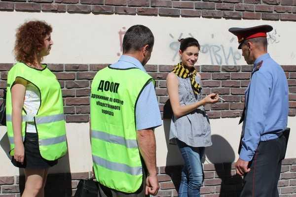 Брянские дружинники начали совместную службу с полицией