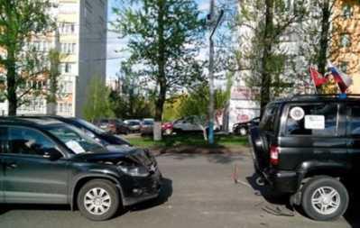 Полиция  разыскала  водителя, сбившего в брянском дворе двух человек