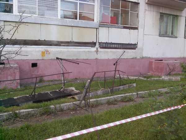 Началось: в Брянске съехала первая крыша пятиэтажки