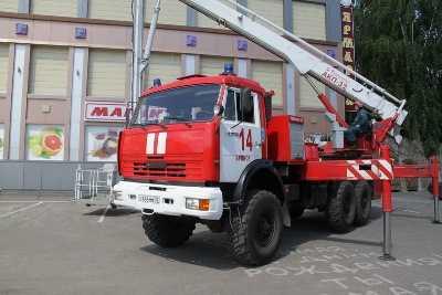 В  Брянске горел торговый центр «Свенская ярмарка»