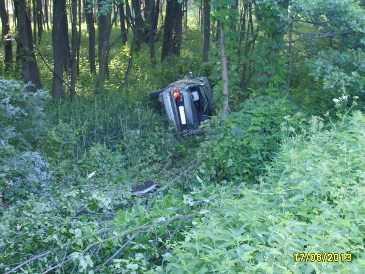 На брянской трассе  «Фольксваген» врезался в дерево – погиб водитель