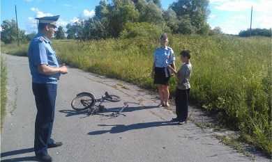 Девятилетний брянский велосипедист попал под «Ниву»