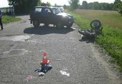 На брянских дорогах разбились  мотоциклисты
