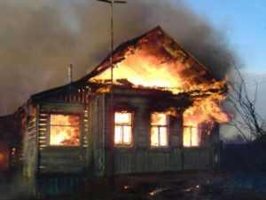 За гибель  на пожаре брянских детей их родителей  отправили  в колонию