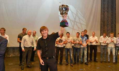 Брянское «Динамо» отпраздновало возвращение во II дивизион