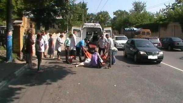 В Брянске 19-летний водитель сбил женщину
