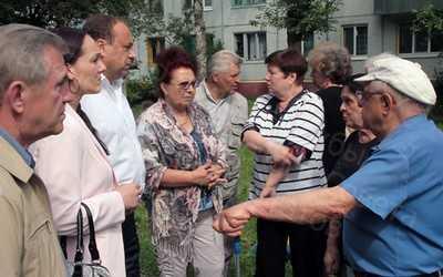 Брянские депутаты во дворах Советского района не заметили слона