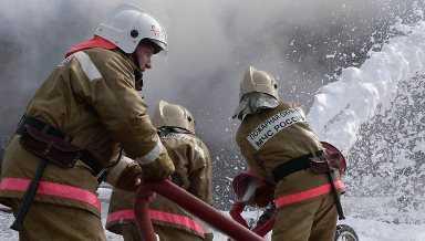 В Брянской области  из-за взрыва  газового баллона  сгорел дом