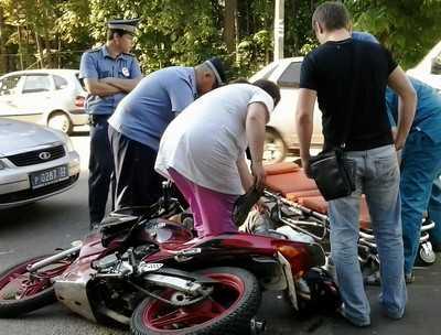 В Брянске разбился молодой мотоциклист