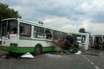 Автобусом, в который врезался «КамАЗ»  под  Подольском,  управлял житель Брянска
