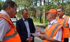 В Домашово брянский губернатор будет ездить по дороге с полимерами