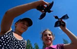 На бульваре Гагарина брянцев научат  делать чёрных аистов