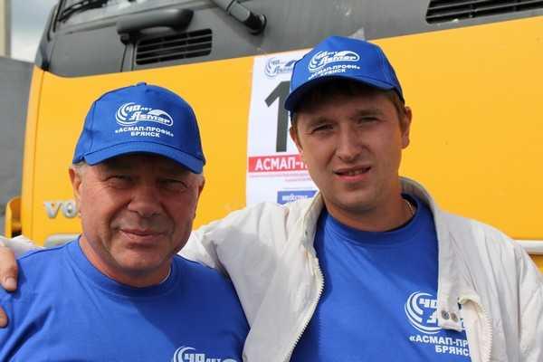 На конкурсе дальнобойщиков победил Брянск