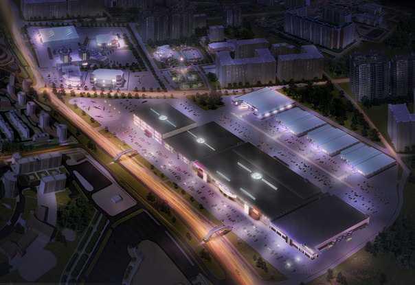 Испанская Inditex расположится на 45 сотках брянского ТРЦ «Аэро Парк»