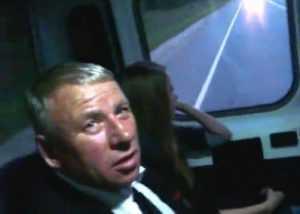 Брянский депутат Фидра отмитинговал в маршрутке