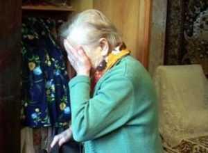 Брянская пенсионерка стала жертвой вооружённого разбойника