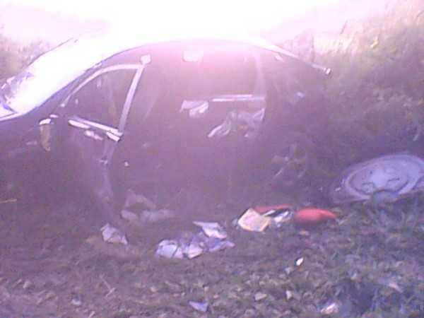 Под Навлей слетел с дороги «Хендэ» — пострадали четверо