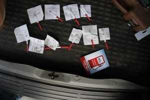 Брянские автомобилисты попытались проверить бензин