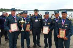 Команда брянских сотрудников МЧС  стала одной из лучших в стране