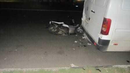 В Брянске пострадала шестилетняя сестра пьяного скутериста