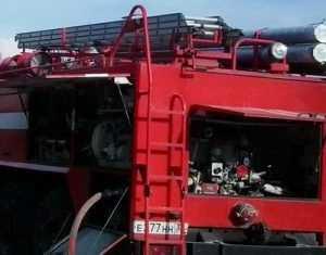 В Почепском районе сгорел трактор