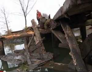Мост и дорога в Жуковском и Дубровском районах восстановлены