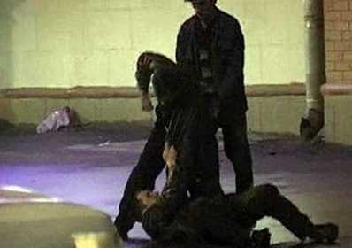 В брянском парке двое братьев избили и ограбили инвалида