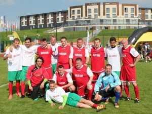 Журналисты из Брянска победили в футбольном турнире городов-героев