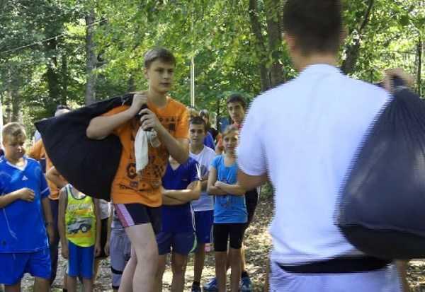 В Брянске прошла первая олимпиада среди детей силовиков