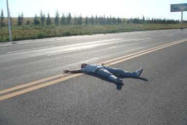 Брянский водитель, задавивший на дороге пьяного, предстанет перед судом
