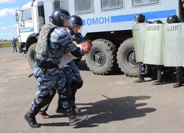 Брянская полиция провела антитеррористические учения