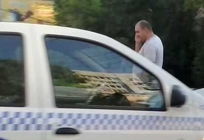 В Брянске ночью такси проломило голову мужчине