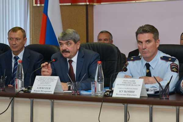Губернатор пожаловался на брянскую полицию заместителю министра МВД