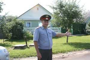 Брянский полицейский  задержал беглого насильника и вора