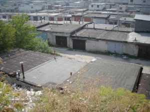 В Брянске сгорели гаражи вместе с автомобилями