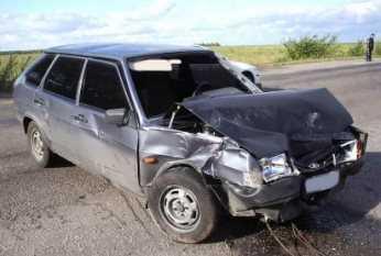 В Трубчевском районе  водителя «девятки»  убила труба