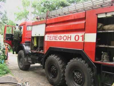 В Большом Полпине сгорела легковушка