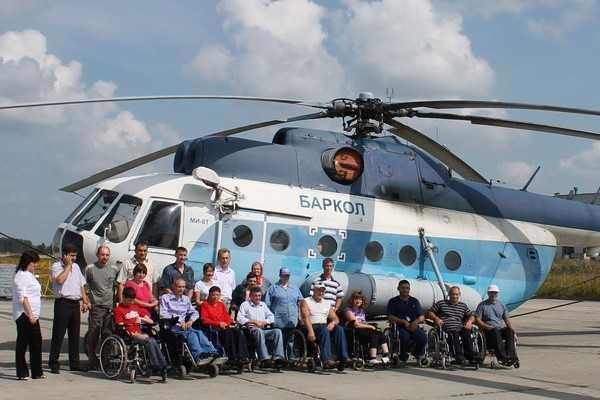 Брянским инвалидам подарили коляски для танцев