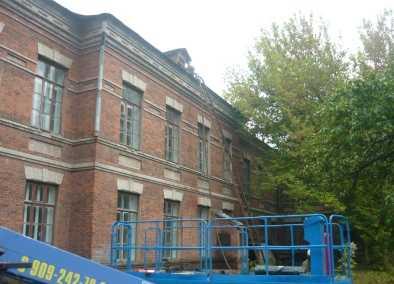 В брянском университете потушили пожар