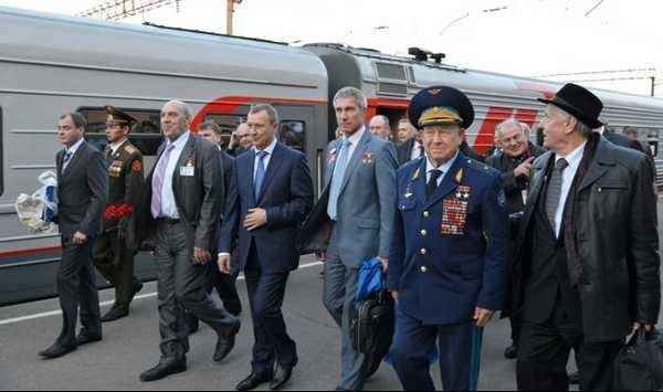 В Брянск прибыл Поезд памяти