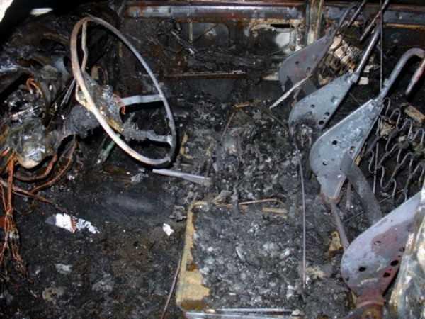 В Брянске сгорели «Мицубиси» и «ГАЗ»