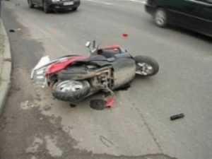 В Новозыбкове  «Ауди» сбила  16-летнего скутериста