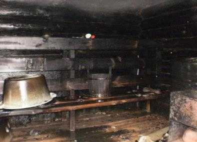 В Фокинском районе Брянска горела баня