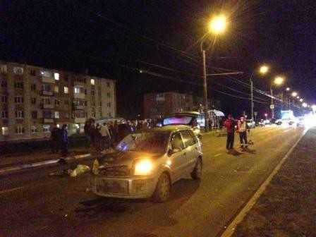 В Брянске погиб велосипедист – ему оторвало ногу