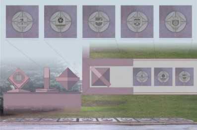 В центре Брянска установят гербы городов-побратимов