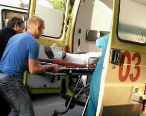 В Брянске на проспекте Станке Димитрова иномарка сбила пешехода