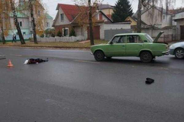 В Брянске  «Жигули»  насмерть сбили пенсионерку