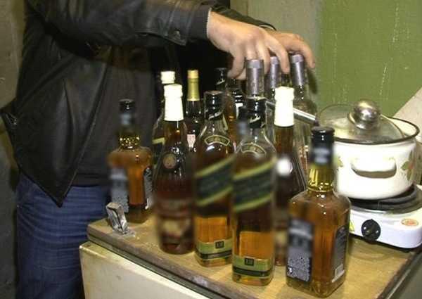 В брянском магазине торговали поддельным алкоголем