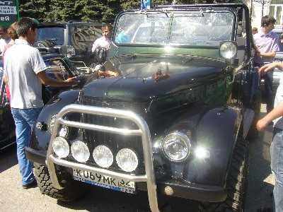 В Брянске снова проведут ретровыставку  автомобилей